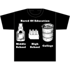 AM/PM Ink: Bored of Education T-Shirt