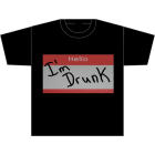 AM/PM Ink: Hello, I'm Drunk T-Shirt