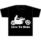 AM/PM Ink: Live To Ride T-Shirt