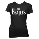 The Beatles: Logo Girlie Tee