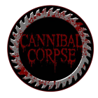 Cannibal Corpse: Saw Blade Patch