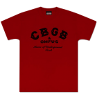 CBGB's: Classic Logo Red T-Shirt