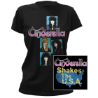 Cinderella: Shakes The U.S.A. Girlie Tee