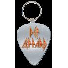 Def Leppard: Guitar Pick Keychain