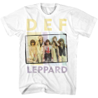 Def Leppard: Square Box Photo T-Shirt
