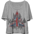 Def Leppard: Sugar Juniors Tee