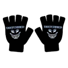 Disturbed: Fingerless Logo Gloves