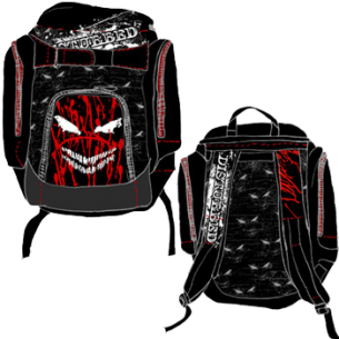 Disturbed: Blood & Smiles Backpack