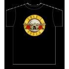 Guns N' Roses: Bullet Logo T-Shirt