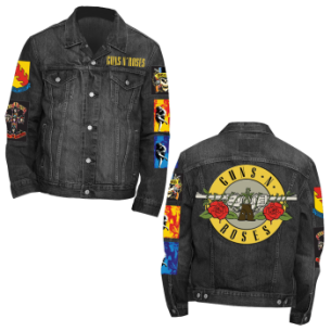 Guns N Roses: Denim Jacket