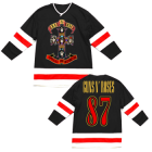 Guns N Roses: Cross Logo Hockey Jersey
