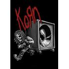 Korn: Speaker Textile Poster