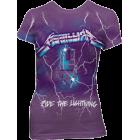 Metallica: Lightning Girlie Tee