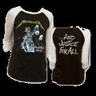 Metallica: Justice Raglan Tee