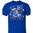 NY Mets: 4 Aces T-Shirt