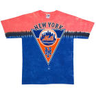 NY Mets: Pennant Tie Dye T-Shirt