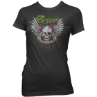 Poison: Skull Wings Girlie Tee