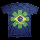 RHCP: Brazil Logo T-Shirt