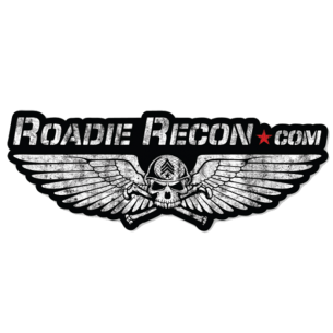 Roadie Recon: (3) Skull Logo Stickers