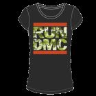 Run DMC: Camo Girlie Tee