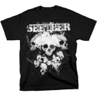Seether: Paint Skulls T-Shirt