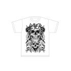 Slayer: White Skull T-Shirt