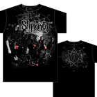 Slipknot: Gray Splatter T-Shirt