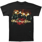 Three Days Grace: Color Group Photo T-Shirt