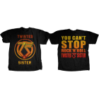 Twisted Sister: Can't Stop RnR T-Shirt