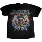 Twisted Sister: Girls & Skull T-Shirt