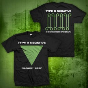 Type O Negative: Silence Is Deaf T-Shirt