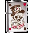 Aces High: Custom Zippo Lighter
